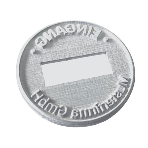 Replacement text plate Trodat date stamp 46140 (incl. ink pad 6/46140)